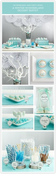 Winter Wonderland theme party-and-gift-decor