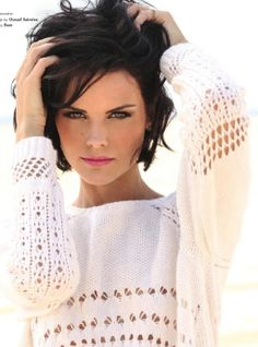 Jaimie Alexander in South Magazine, Oct/Nov Jaimie Alexander, Jamie Alexander Hair, Celebrity Hairstyles, Bob Hairstyles, Haircuts, Pretty People, Beautiful People, Beautiful Women, Short Hair Cuts