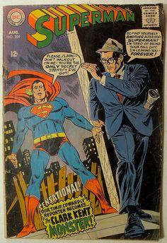 DC Comics 1968 SUPERMAN