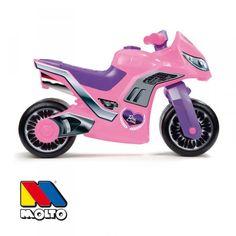 Moto infantil 2 ruedas MOTO PREMIUM ROSA [Playkids-MOLT12222] | 29,80€ : La tienda online para tu peke | tienda bebe pekebuba.com
