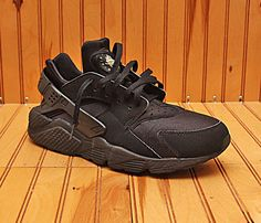 check out cac05 7e0f0 Details about NIKE AIR HUARACHE SIZE 10.5 MEN S SNEAKERS 2015 318429 003  BLACK