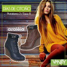 Busca las tuyas para esos #díasdeotoño Azaleia Perú y Vanity Shoes