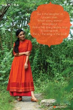 Song of the South - A collection inspired by the colours and textiles of Tamil Nadu. Currently available at our outlet in Lulu mall, Kochi, and coming soon to our online store! #shalinijamesmantra #songofthesouth