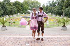 Die neue Trachtenkollektion in der Kölner Flora #Dirndl #Trachten #Oktoberfest #Modefotografie #Love