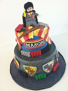 Harry Potter Lego Cake! on Cake Central