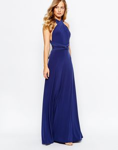 Jarlo kelly maxi dress with cap sleeve and lace insert for low cut