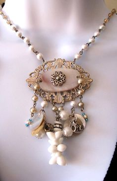You know, I couldn't bring myself to use rosaries as jewelry, but, I suppose, if the rosary is broken, you shouldn't let it go to waste.