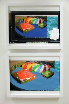 """""""pool paintings"""" - Katie Holden"""