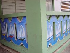 Porch in Culebra, Puerto Rico