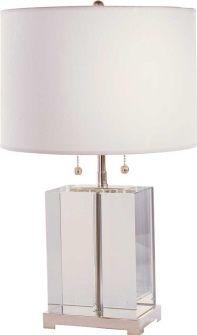 Crystal Block Lamp