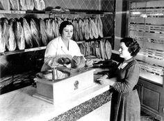 Venda de pa a Barcelona. Any 1935