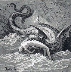 Perseus Comes Too Late, Gustave Doré