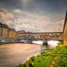Florence is a relatively inexpensive European city with lots of great free attractions. Photo courtesy of royd3n at the Ponte Vecchio.