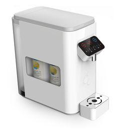 Desktop water purifier on Behance Kent Ro, Ro Water Purifier, Aquafresh, Water Efficiency, 3d Printer Designs, Drinking Fountain, Foyer Design, Design Language, Water Dispenser