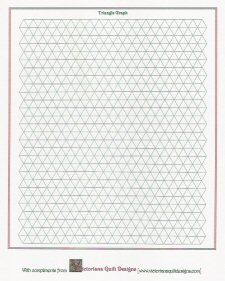 Triangle Graph Paper  Hexagon    Graph Paper And Triangles