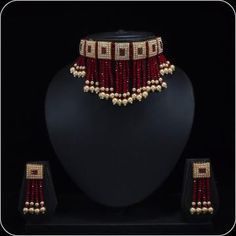 Aashkaanya is an Online Traditional Indian Imitation Jewelry Boutique. Explore all collection for new designs and more colors. Indian Jewelry Earrings, Indian Jewelry Sets, Fancy Jewellery, Indian Wedding Jewelry, Bead Jewellery, Fashion Jewelry Necklaces, Bridal Jewelry, Beaded Jewelry, Jewellery Designs