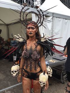 Make-up/ styling I did for dominator festival 2016  Model: Tisha   Want to buy handmade styling/ headdresses, or hire me? Click on the link!
