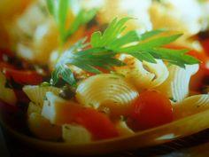 pasta alla caprese - con pomodorini e  mozzarella