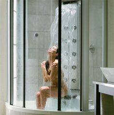Waterfall shower. Yusssss.....but a girl can dream right?