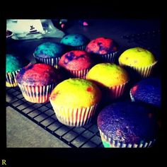 Colorfull Cupcakes
