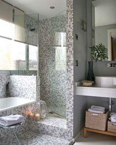 bathroom interior design Bathroom design idea - Home and Garden Design Ideas bathroom Bathroom Our bright basement bathroom.before and aft. Rustic Bathroom Vanities, Rustic Bathrooms, Dream Bathrooms, Beautiful Bathrooms, Small Bathroom, Bathroom Ideas, Master Bathroom, Marble Bathrooms, Bathroom Organization