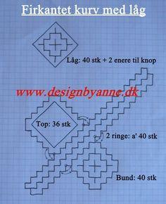 Cesta rectangular con tapa