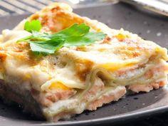 Lasagne al salmone e robiola