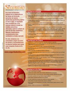 """El Mundo de la Seguridad con la Comunidad: """"Navidad y Seguridad"""""""