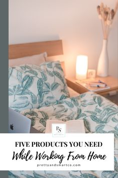 Work from home essentials. Products you need while you #WFH #prettyandsmart #workingmom #bossgirl #bossbabe #workhardplayhard Home Office Space, Bossbabe, Bed, Pretty, Essentials, House, Furniture, Home Decor, Products