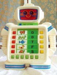 80's Toys Robot, OMG, I loved this! My older sister got this for Christmas in 87' and she hardly shared.lol.