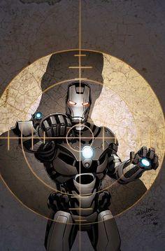 War Machine by Salvador Larroca #Ironman