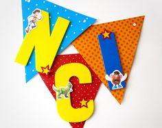 Bandeirola Decorativa Toy Story