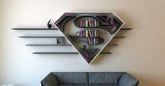 Bibliothèque Superman!