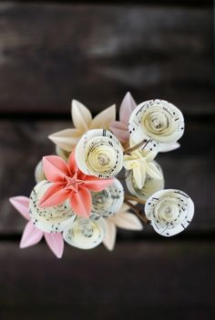 Paper flowers - possible Mother's Day gift
