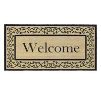 Home & More 12007 Extra-large Coir & Vinyl Welcome Mat