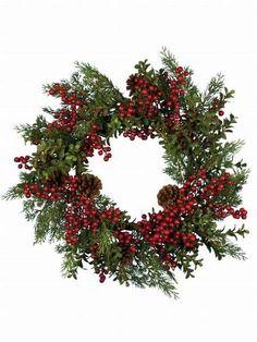 Αποτέλεσμα σχετικών εικόνων Pine Cone Christmas Tree, Christmas Tree Ornaments, Christmas Wreaths, Pine Cones, Holiday Decor, Diy, Home Decor, Diy Ornaments, Decoration Home