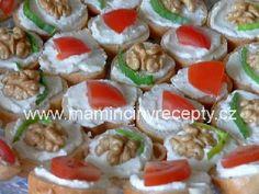 Pomazánka z nivy Sushi, Ethnic Recipes, Food, Meals, Yemek, Sushi Rolls, Eten