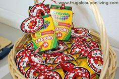 Crayola Crayons $.25 for Box of 24 – Birthday Favor Idea #ToysRUs #Crayola #Deal