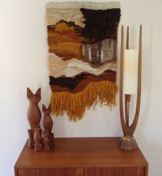 Mid Century Fiber Art
