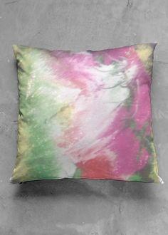 VIDA Design Studio Vida Design, Organic Cotton, Throw Pillows, Luster, Classic, Artist, Modern, Artwork, Bright