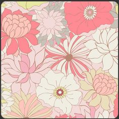 Pat Bravo - Coquette - Flower Bed in Pale