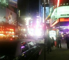 Times Square where if you are there an hour you will meet someone you know.