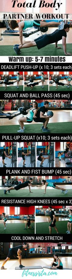 Total Body Partner Workout