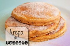 Pumpkin pancakes, add chocolate chips for even more deliciousness! Low Carb Recipes, Cooking Recipes, Pumpkin Pancakes, Comida Latina, Exotic Food, Caribbean Recipes, Canned Pumpkin, Lunch Snacks, Food Dishes