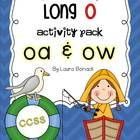 Great for word work and centers!  This activity pack focuses on the long o sound spelled with the oa & ow patterns.  Here is what's included:  *Read/Write the Room-for a center ...