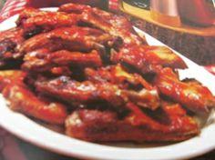 Barbecued Pork SpareRibs