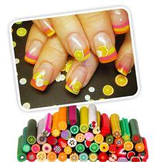 Diseño de frutas en las uñas - http://www.xn--todouas-8za.com/diseno-de-frutas-en-las-unas.html