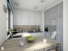 industrialnie na 48m2 - Kuchnia, styl industrialny - zdjęcie od Pracownia Wielkie Rzeczy