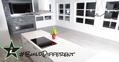 A dash of colour can really stand out when you #BuildDifferent.  #YQR #ModernHome #CustomBuild #CustomHomes #quality #modern #original #home #design #imagine #creative #style #realestate #trueoriginal #dreamhome #architecture #dreamhomes #interior #YQRbuilds #construction #house #builder #homebuilder #showhome #beautiful #preparation #dream #DamnGoodHouses