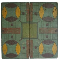 Parcheesi Gameboard-love the colors